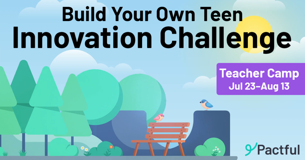 Teacher Camp: Build Your Own Teen Innovation Challenge