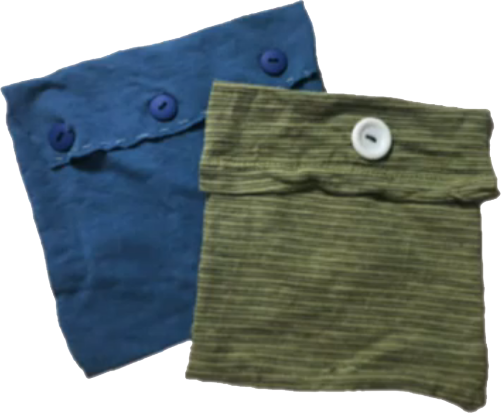 Photograph of two Go-Green Bags