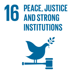 Global Goal 16: Peace, Justice, and Strong Institutions
